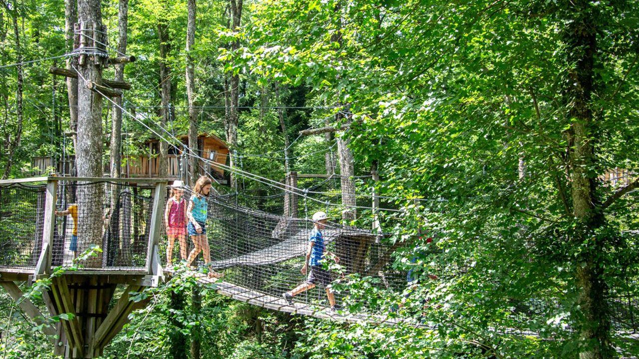 Après avoir réalisé 800.000euros de chiffre d'affaires en 2020, contre 4,5millions d'euros en 2019, le Grand Parc d'Andilly mise sur le dernier trimestre pour atteindre 3millions d'euros en 2021.