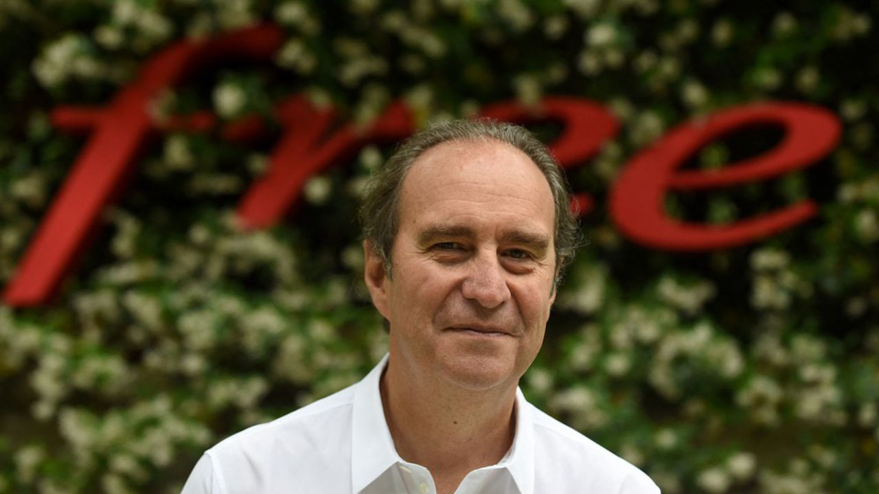 Xavier Niel, le PDG-fondateur d'Iliad, détient désormais 84% de son groupe.