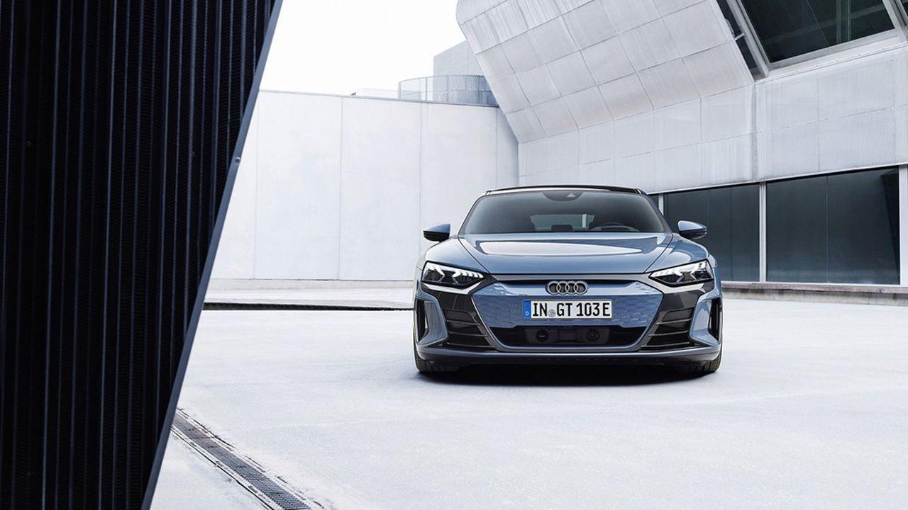 L'Audi e-tron GT.