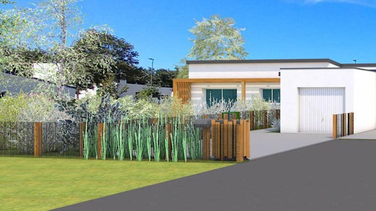 Le parc d' Ilik'Home compte pour l'instant trois maisons de 3 à 4 pièces. Il devrait en totaliser une quinzaine d'ici à 2024.