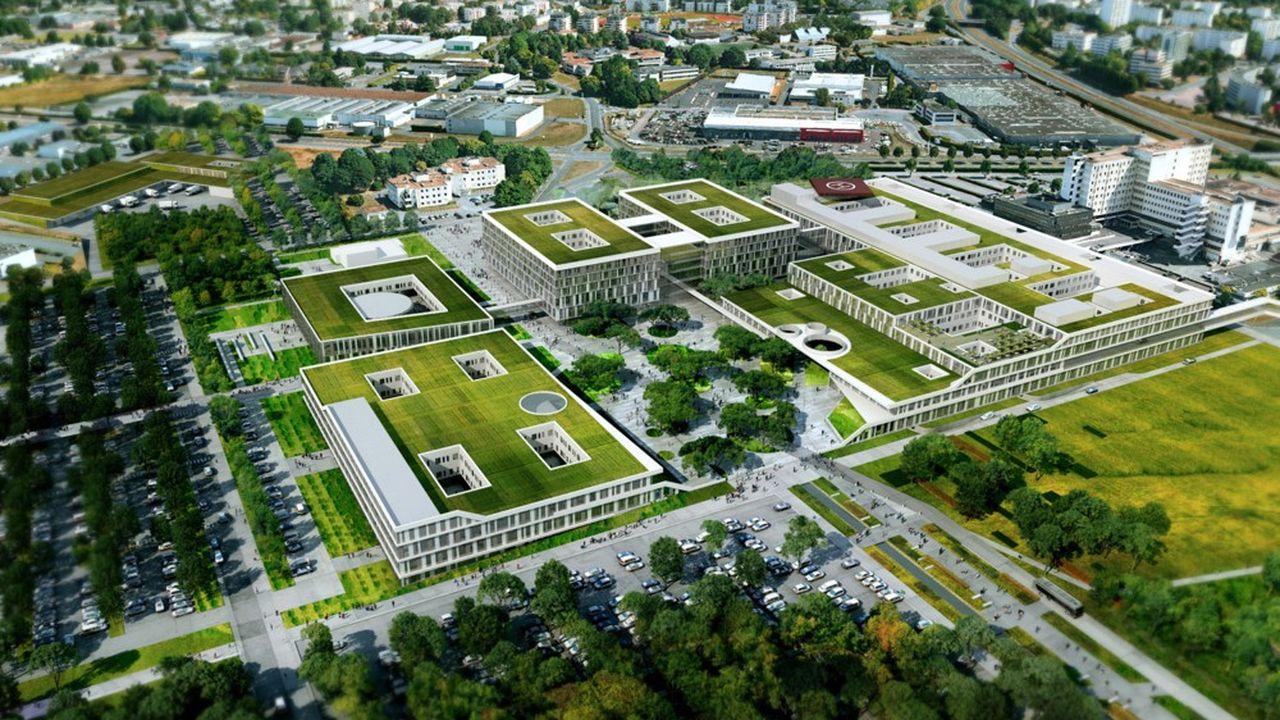 Centre Hospitalier Universitaire de Caen.