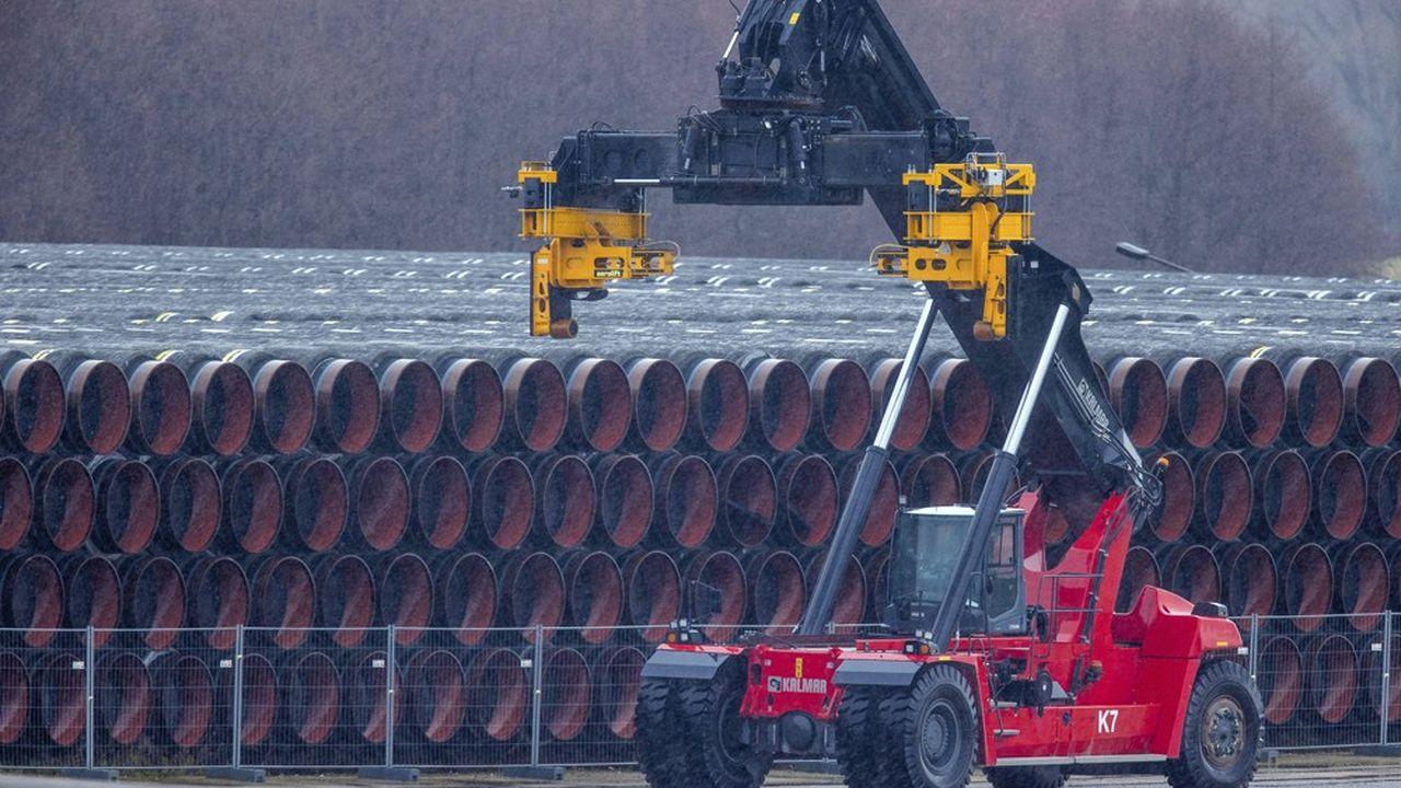 Le gazoduc de 1.230 kilomètres passe par la mer Baltique, contournant donc l'Ukraine, alliée des Etats-Unis, et menaçant de priver ce pays d'une partie de ses revenus.