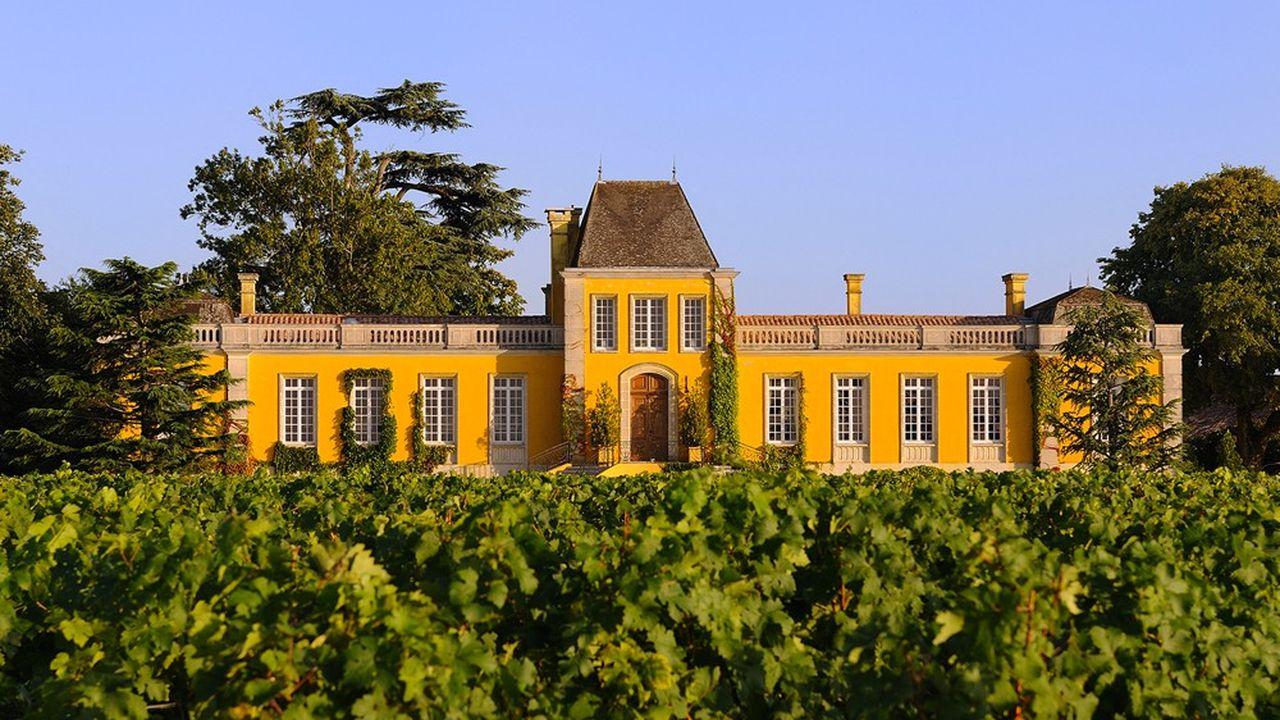 Château Lafon-Rochet, un grand cru dans l'appellation saint-estèphe qui n'en compte que cinq.