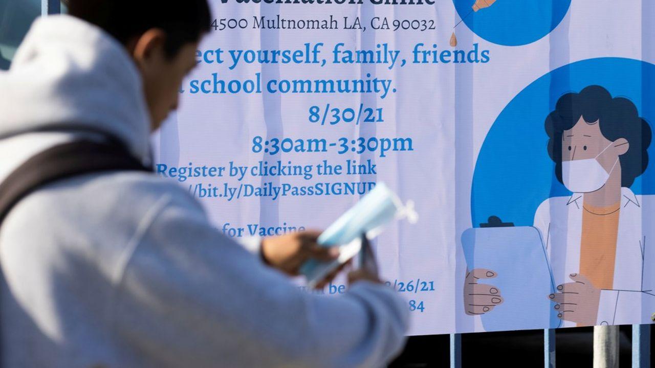 Le district scolaire de Los Angeles a décidé d'imposer à tous les élèves âgés d'au moins 12 ans de se faire vacciner s'ils souhaitent fréquenter un établissement public. 600.000 jeunes sont concernés.