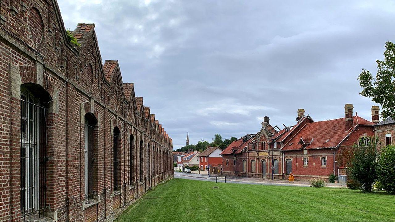 A Beauval, l'ancienne usine textile Saint-Frères va être transformée en quartier d'habitation.