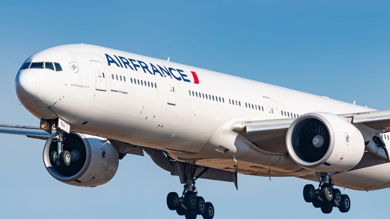 L'offre d'Air France est remontée à 64% du niveau de 2019 en août, contre 30% en mai.