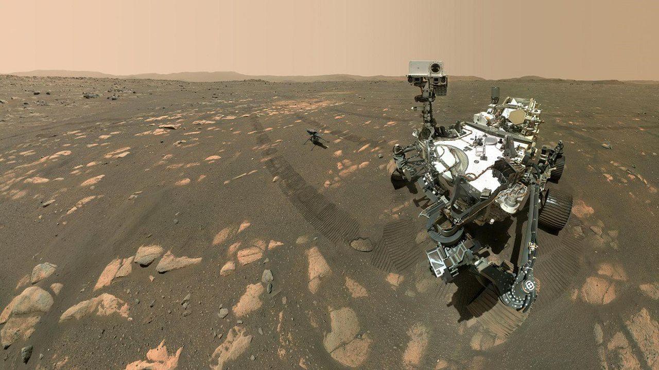 Toujours accompagné de l'hélicoptère Ingenuity, Perseverance arpente la planète Mars depuis près de sept mois.
