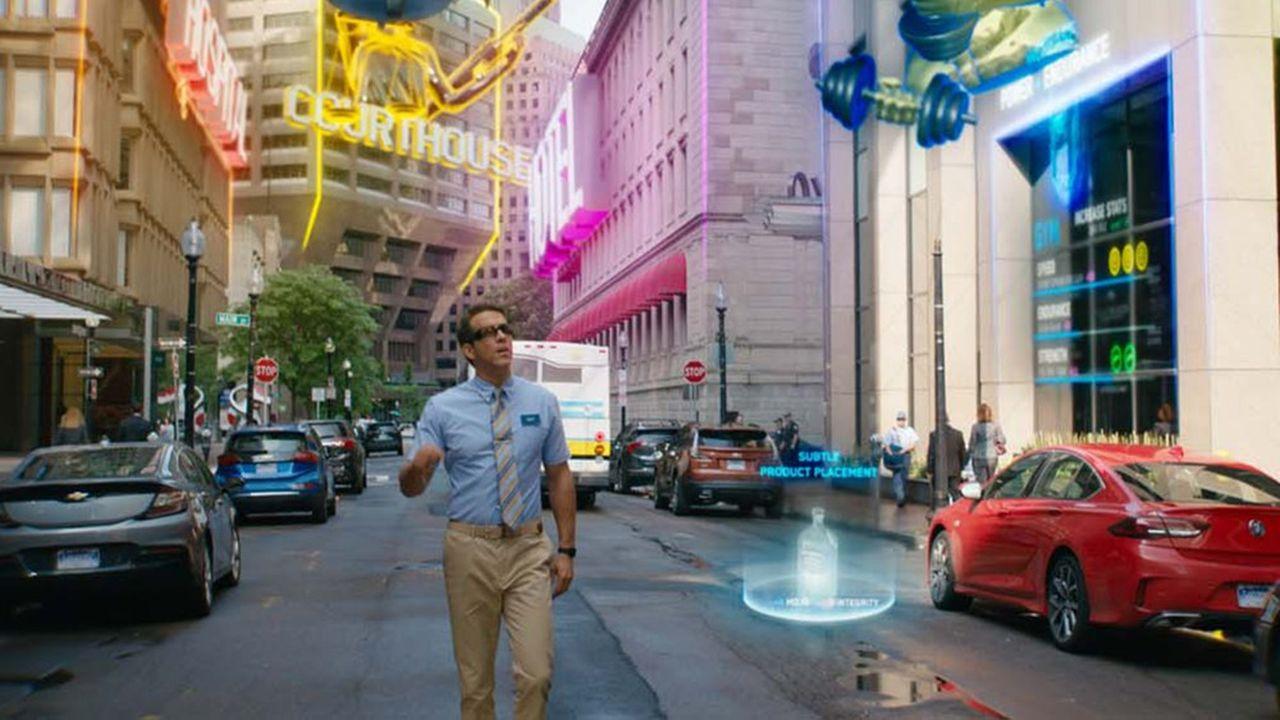 Ryan Reynolds dans «Free Guy», une production 20th Century plus conceptuelle que le dernier Marvel, mais qui a déjà rapporté 240millions dans le monde.