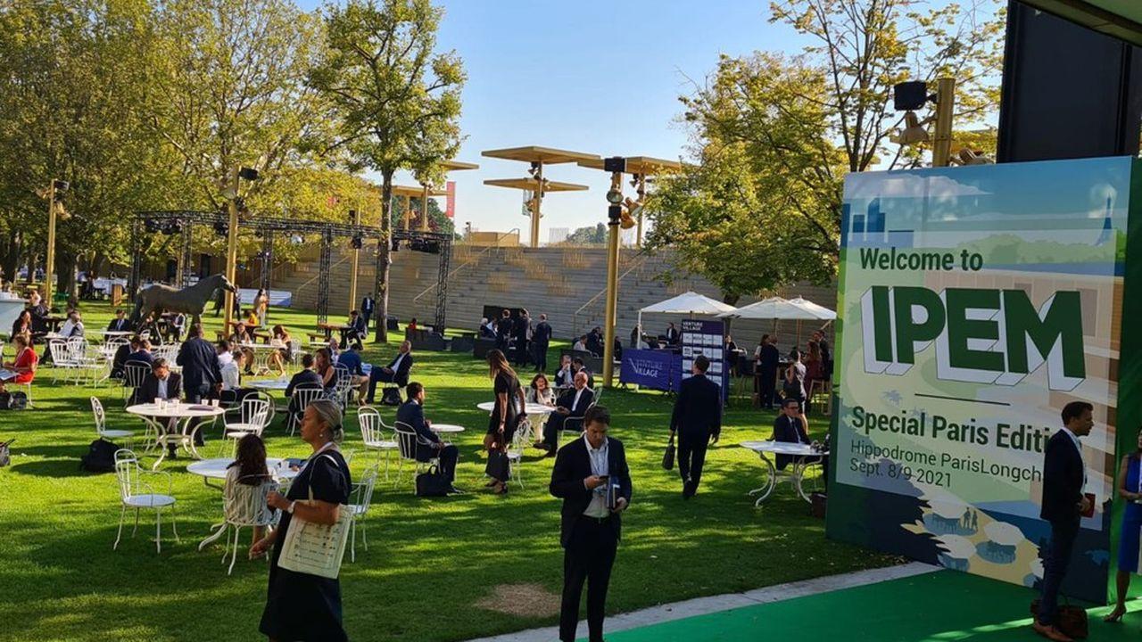 Plus de 3.000professionnels du private equity se sont rendus pour leur rendez-vous de rentrée à l'Ipem, sur l'hippodrome de Longchamp.