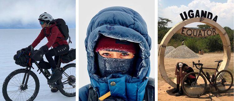 Depuis quelques années, Perrine Fages voyage autour du monde en se lançant des défis physiques.
