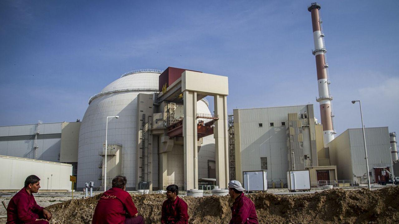 La centrale nucléaire de Bouchehr pour la production civile d'électricité, dont la construction a débuté en 1975, est la première du Moyen-Orient.