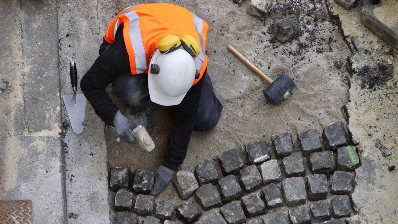 «On constate une forte reprise des activités de travaux partout en France», souligne l'AdCF.