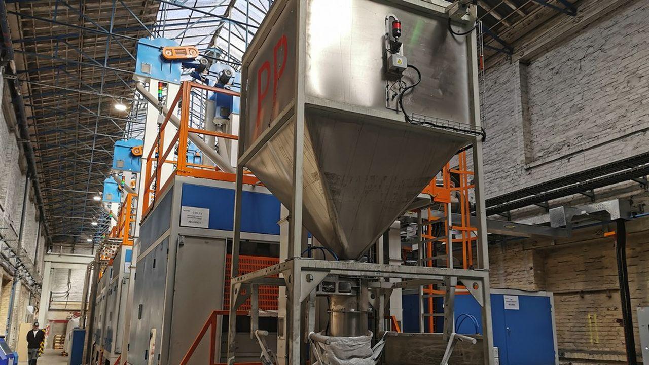 Skytech a mis au point un procédé de tri des résines ABS, polystyrène et polypropylène en les faisant passer dans un champ électrique.