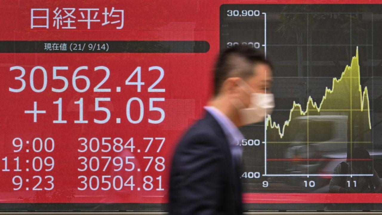 Les investisseurs continuent de parier sur une amélioration prochaine des résultats des grands groupes nippons.