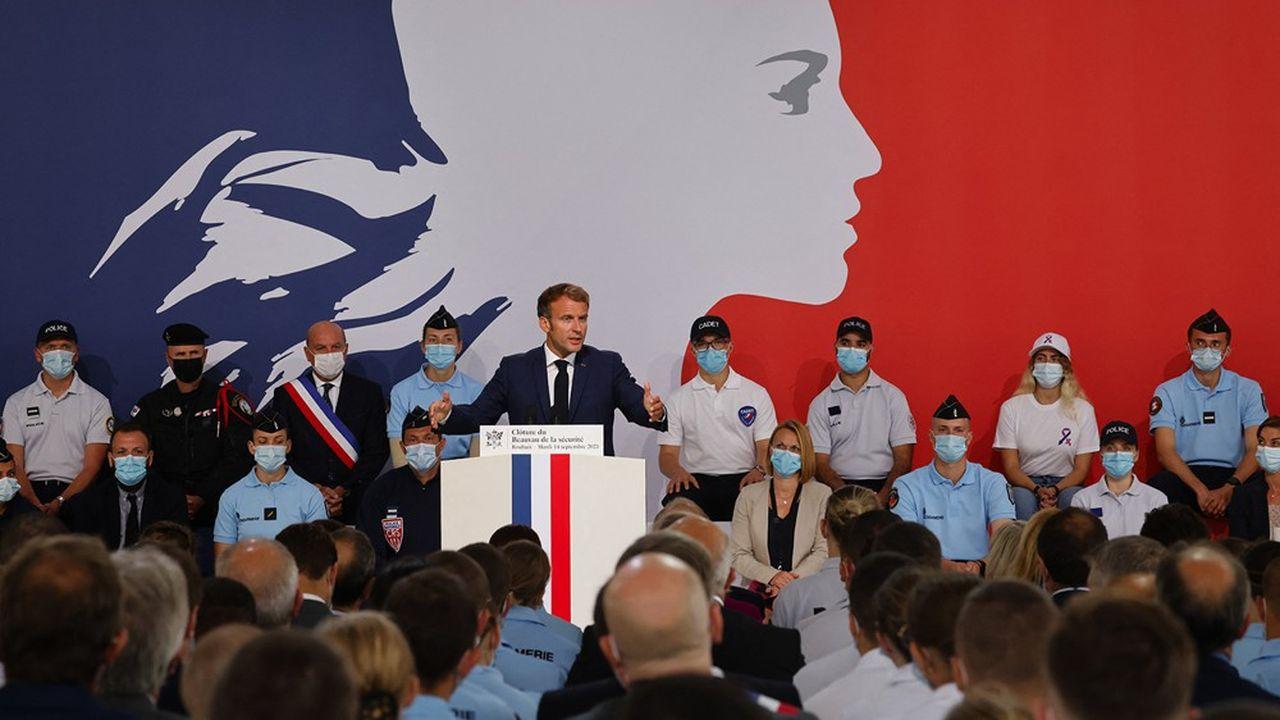 Emmanuel Macron a clôturé ce mardi à Roubaix le Beauvau de la sécurité.
