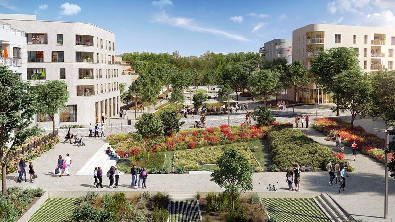L'entreprise Merci Raymond, qui a remporté l'appel à projets, va créer une ferme urbaine dans le futur écoquartier La Vallée à Châtenay-Malabry.
