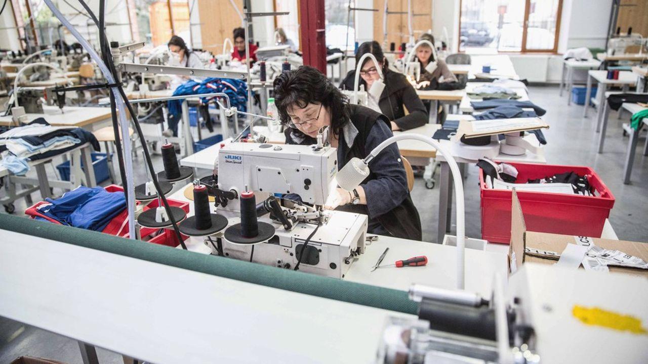 Abandonnée à la fin des années 1980, Le Coq Sportif a réinvesti son usine historique de Romilly-sur-Seine depuis une dizaine d'années.