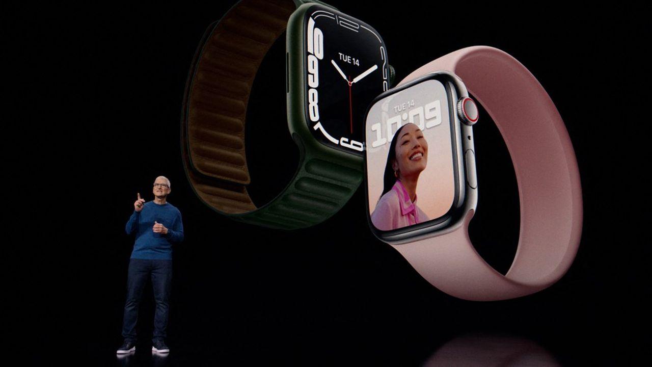 La firme californienne a dévoilé un nouveau design d'Apple Watch.