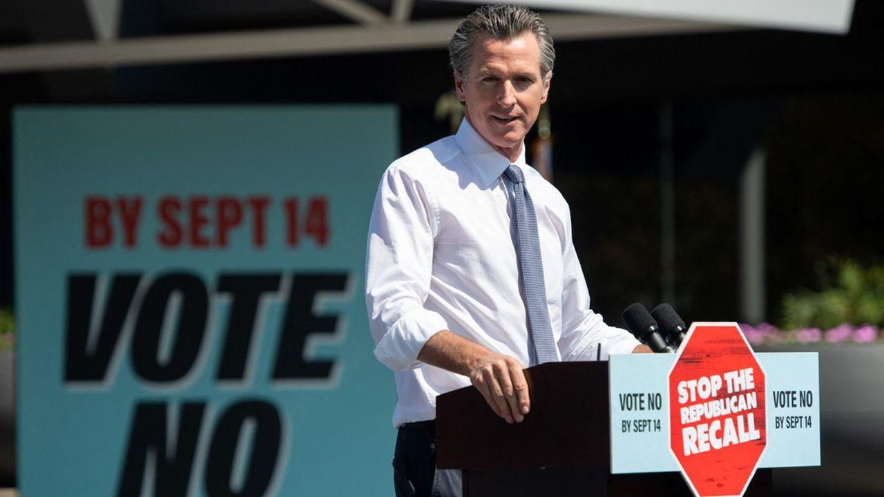 Les électeurs de Californie étaient appelés à se prononcer pour ou contre le maintien de Gavin Newsom à son poste.