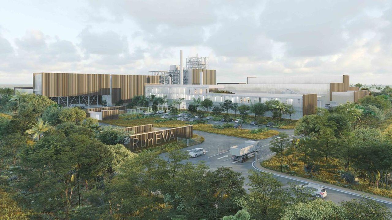 Le futur pôle réunionnais de traitement des déchets s'étendra sur 37 hectares.