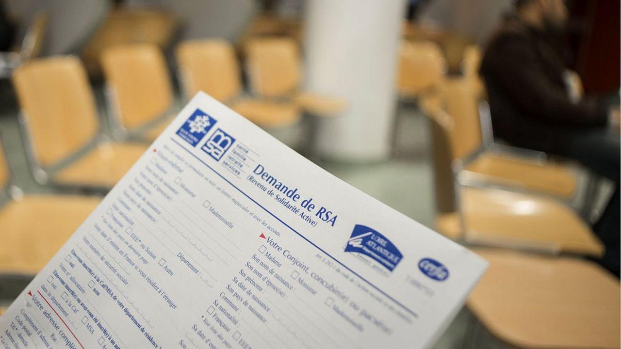La Seine-Saint-Denis compte près de 90.000foyers bénéficiaires du RSA.