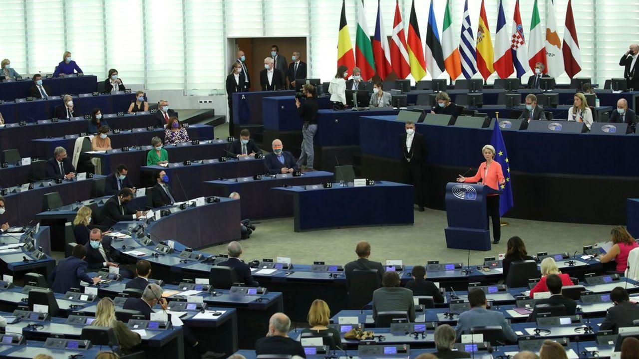 Ursula von der Leyen a tenu son discours annuel sur l'état de l'UE ce mercredi.