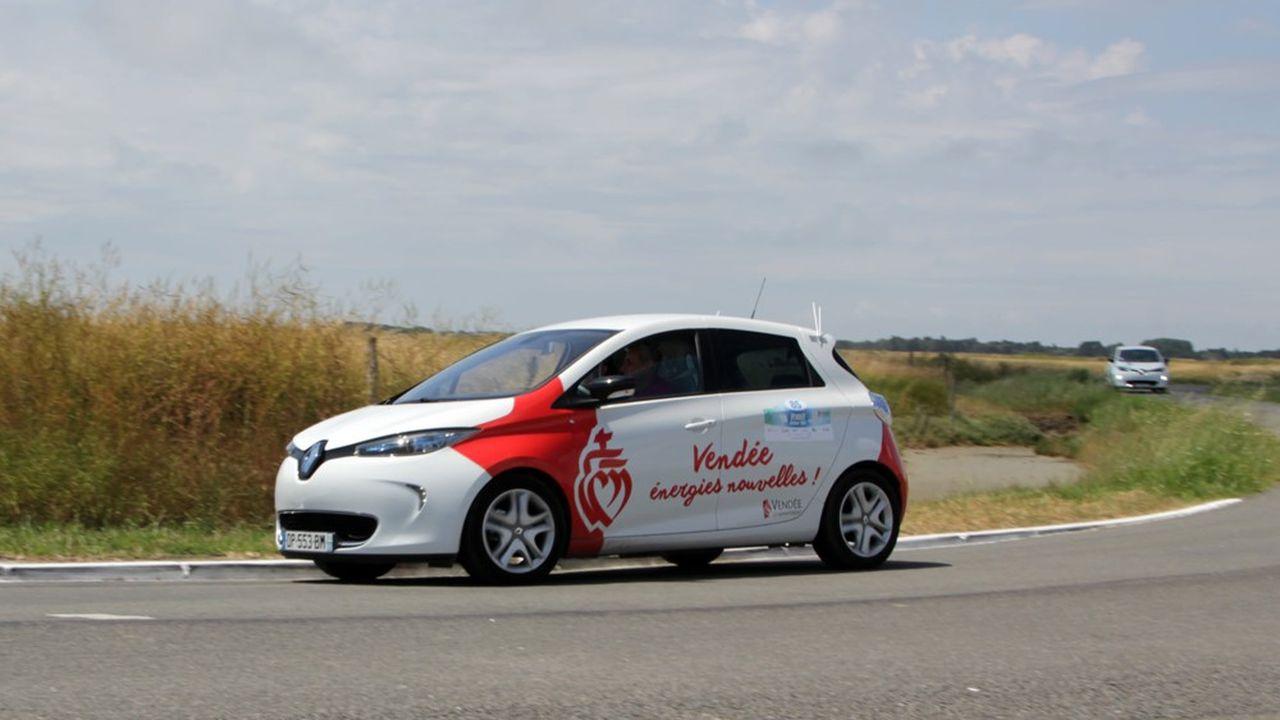 Reconnaissance en juin du parcours du rallye du Vendée Energie Tour organisé par le Sydev en partenariat avec le Conseil départemental de la Vendée.