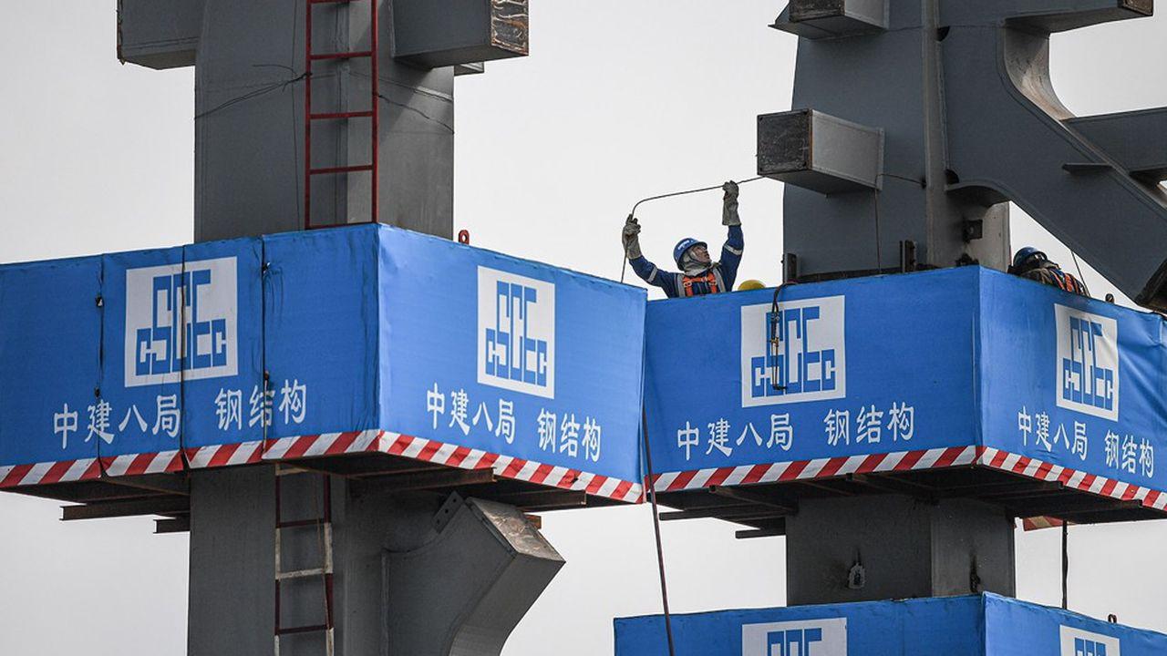 L'ensemble des promoteurs immobiliers chinois cotés ont chuté en Bourse dans le sillage d'Evergrande.