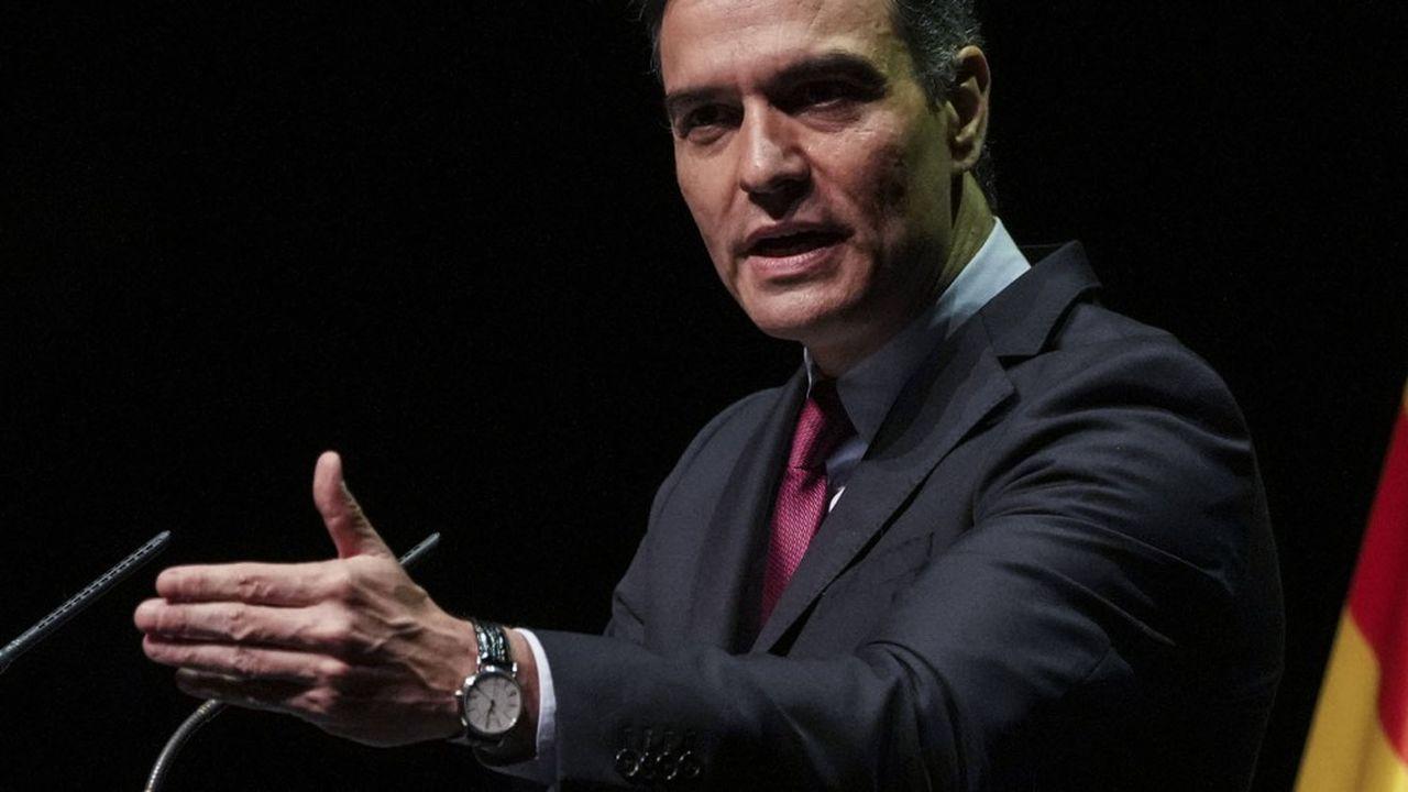 Pedro Sánchez, premier ministre espagnol, a promis à ses concitoyens de limiter les hausses de prix de l'électricité.