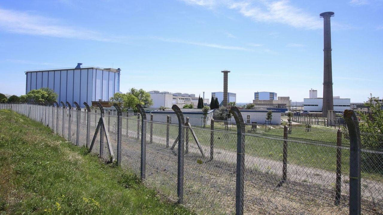 Le site de la CEA de Marcoule, dans le Gard Rhodanien.