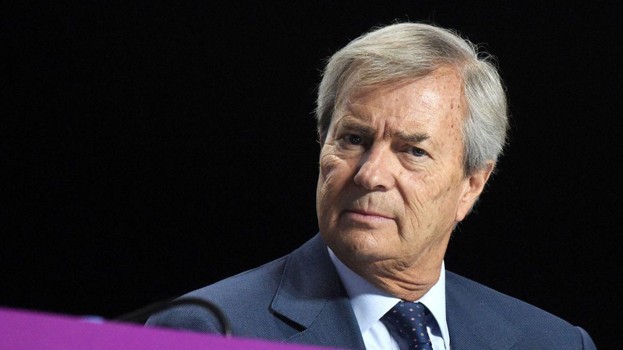 Vincent Bolloré lance l'OPA de Vivendi sur le groupe Lagardère.