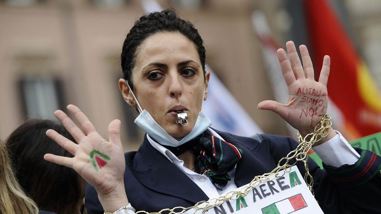 Alitalia cessera de voler à partir du 15octobre, pour passer le relais à ITA.