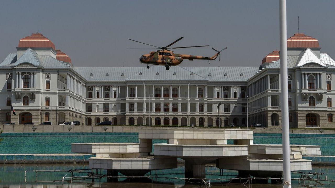 Le parlement afghan à Kaboul.