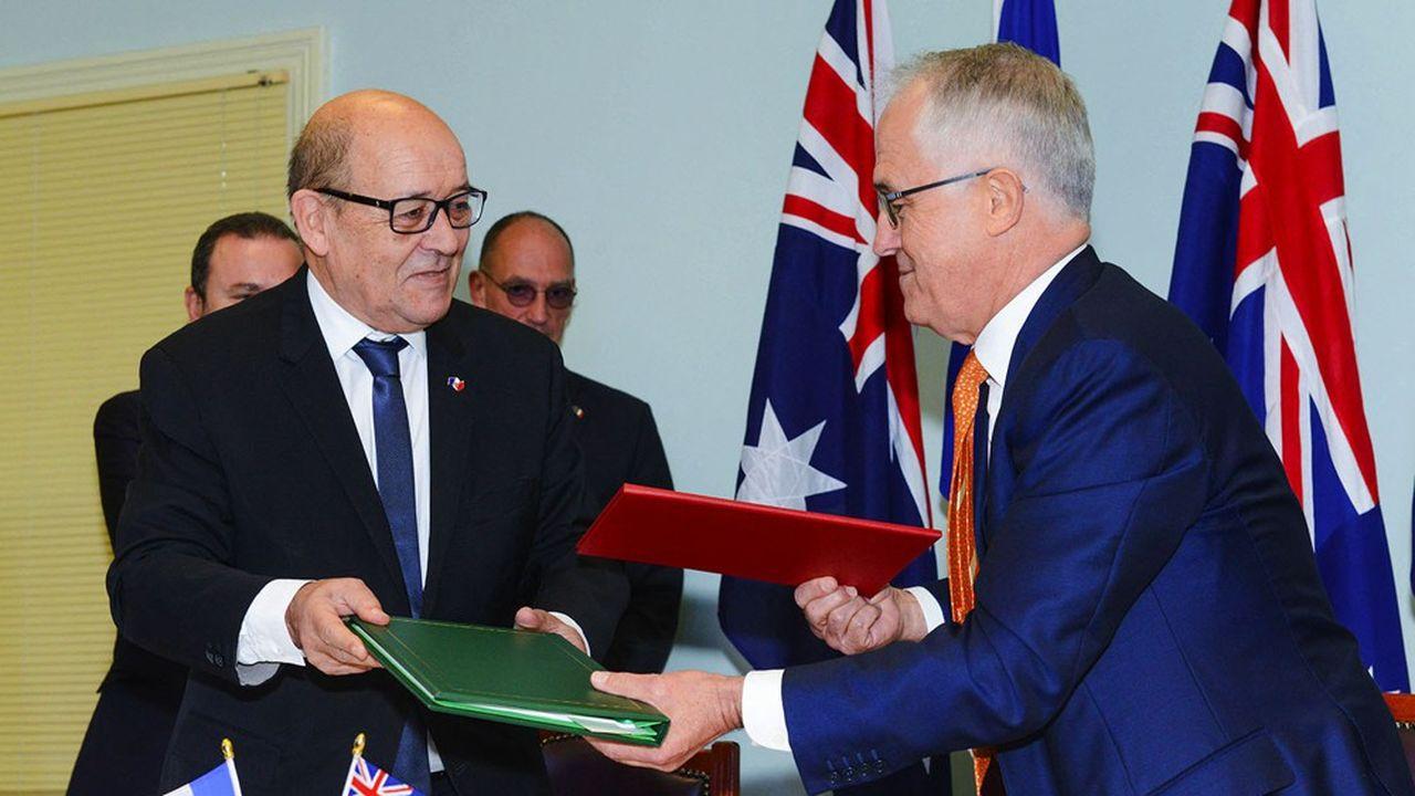 Le contrat conclu entre la France et l'Australie prévoyait la livraison de 12 sous-marins et leur entretien pour un total de 50milliards de dollars australiens (35milliards d'euros), le plus gros budget jamais alloué par l'Australie.