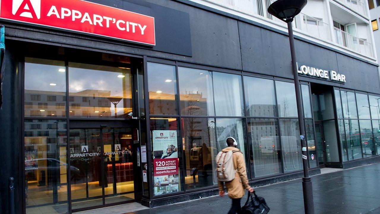Appart'City est le leader français des appart'hôtels.