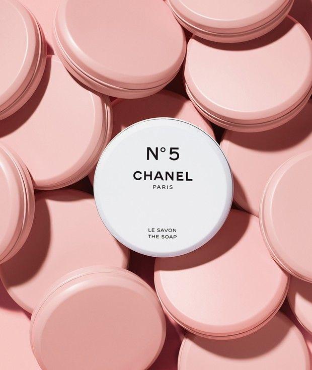 Le savon N°5, issu de la collection anniversaire «Chanel Factory 5».