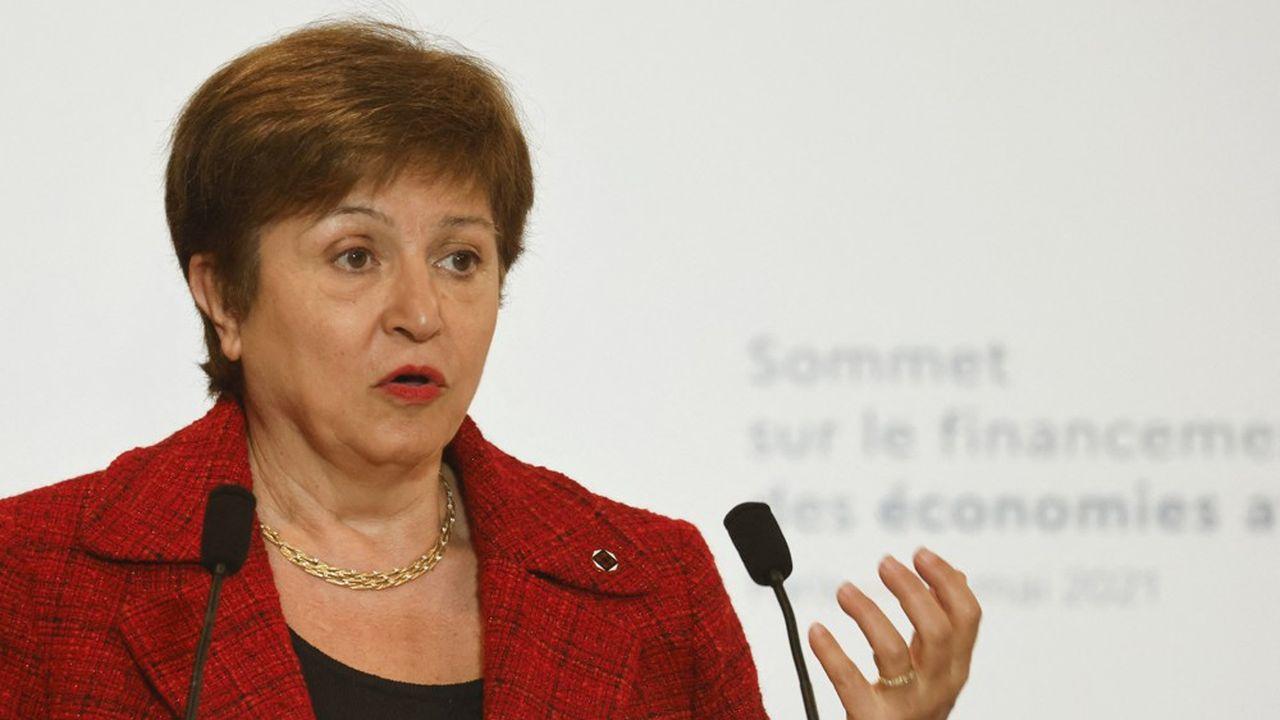 Kristalina Georgieva a pris la tête du FMI en octobre2019.