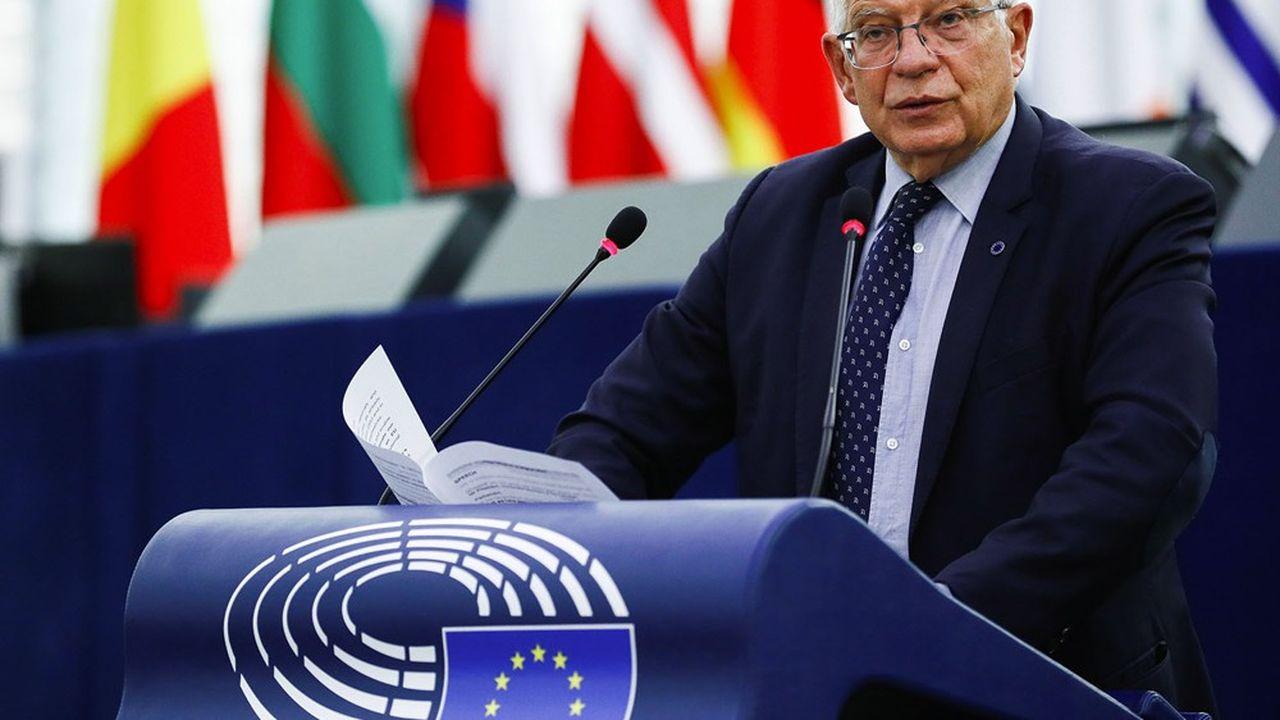 Le haut représentant de l'Union pour la politique étrangère a présenté jeudi la stratégie européenne de coopération dans la région indo-Pacifique