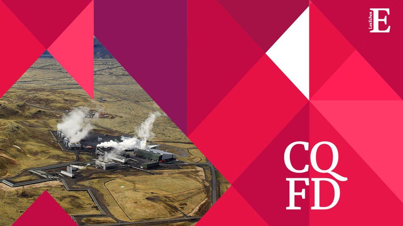 La centrale géothermique de Hellisheidi, près de Reykjavik, en Islande, alimente l'usine Orca.