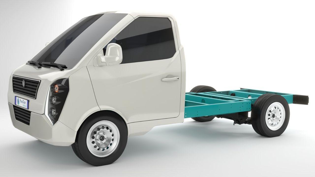 Powidian Mobility espère livrer ses premiers utilitaires en 2023-2024, d'abord à des collectivités locales.