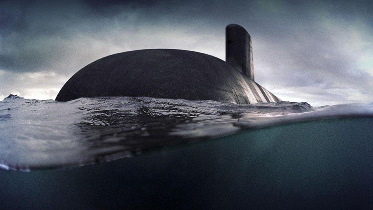 Un sous-marin Barracuda.