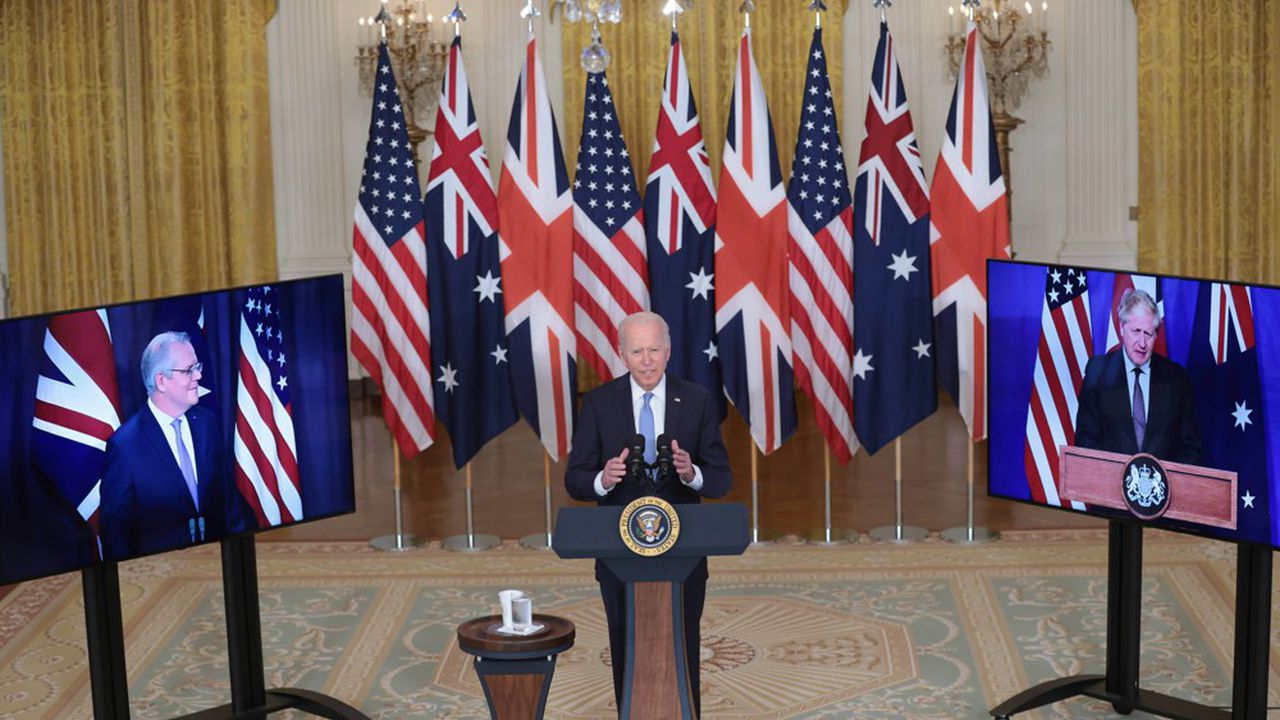 Les Etats-Unis ont annoncé avec l'Australie et le Royaume-Uni un vaste partenariat de sécurité dans la zone indo-pacifique.