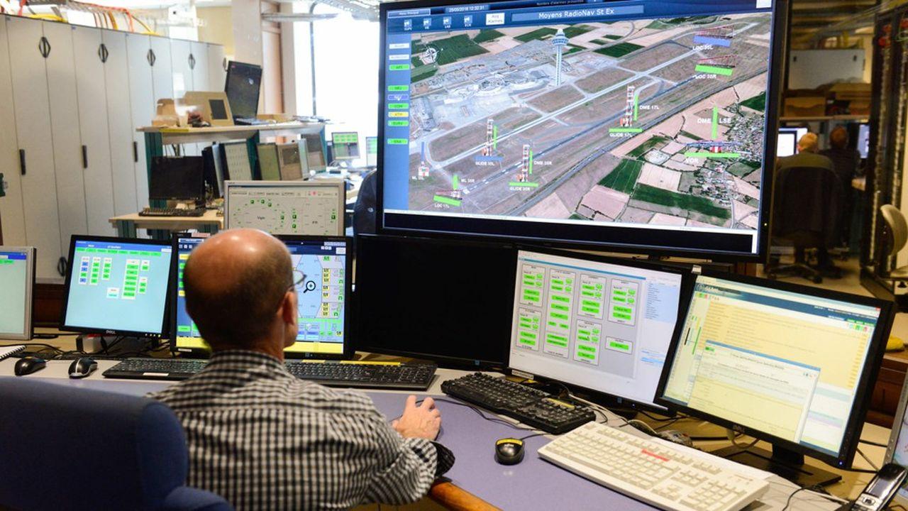 Le nombre de contrôleurs aériens tiendra compte de la baisse du trafic