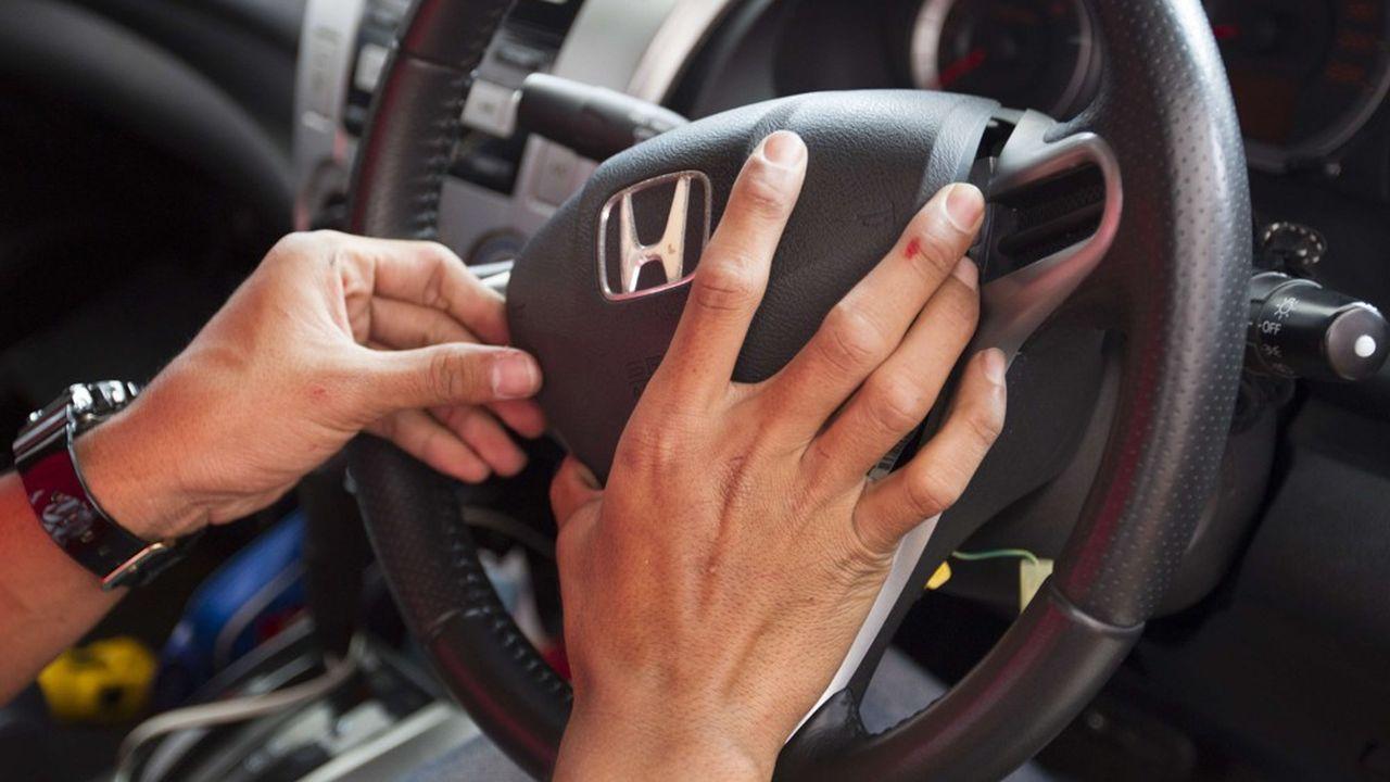 Le nitrate d'ammonium utilisé pour la propulsion des airbags s'est révélé très dangereux après plusieurs années.
