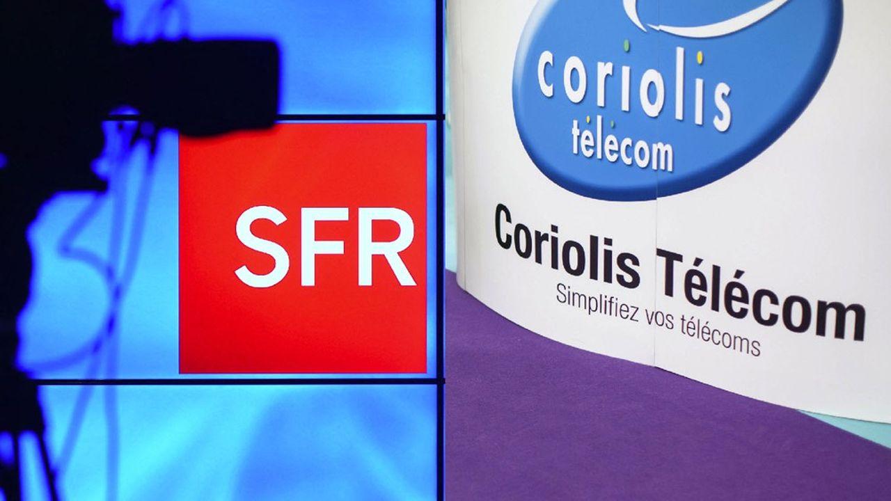Altice France, la maison mère de SFR, va racheter Coriolis Télécom pour 415millions d'euros.