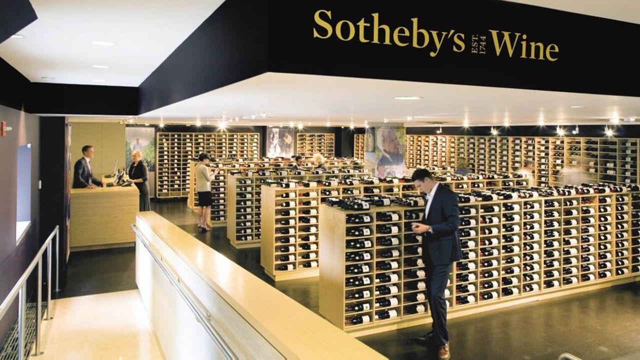 Sotheby's a même créé son label de vins