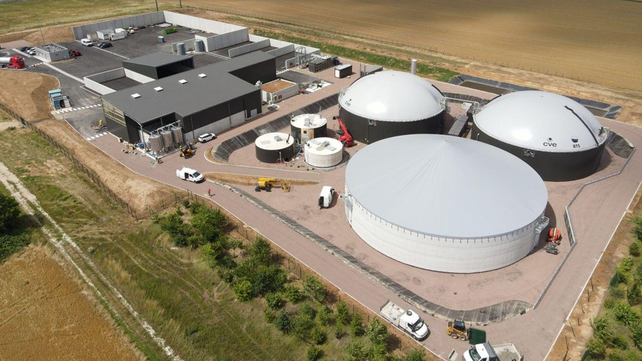 Pour 25.000 tonnes de matière organique, environ 25 gigawatts de biométhane seront injectés chaque année dans le réseau de GRDF.