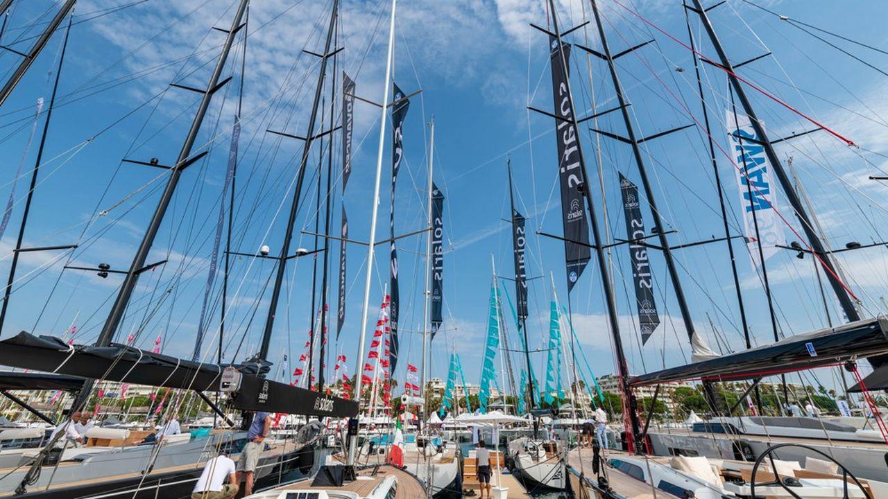 Le Yachting Festival de Cannes, le plus grand salon nautique à flots en Europe, a vu revenir les Américains.