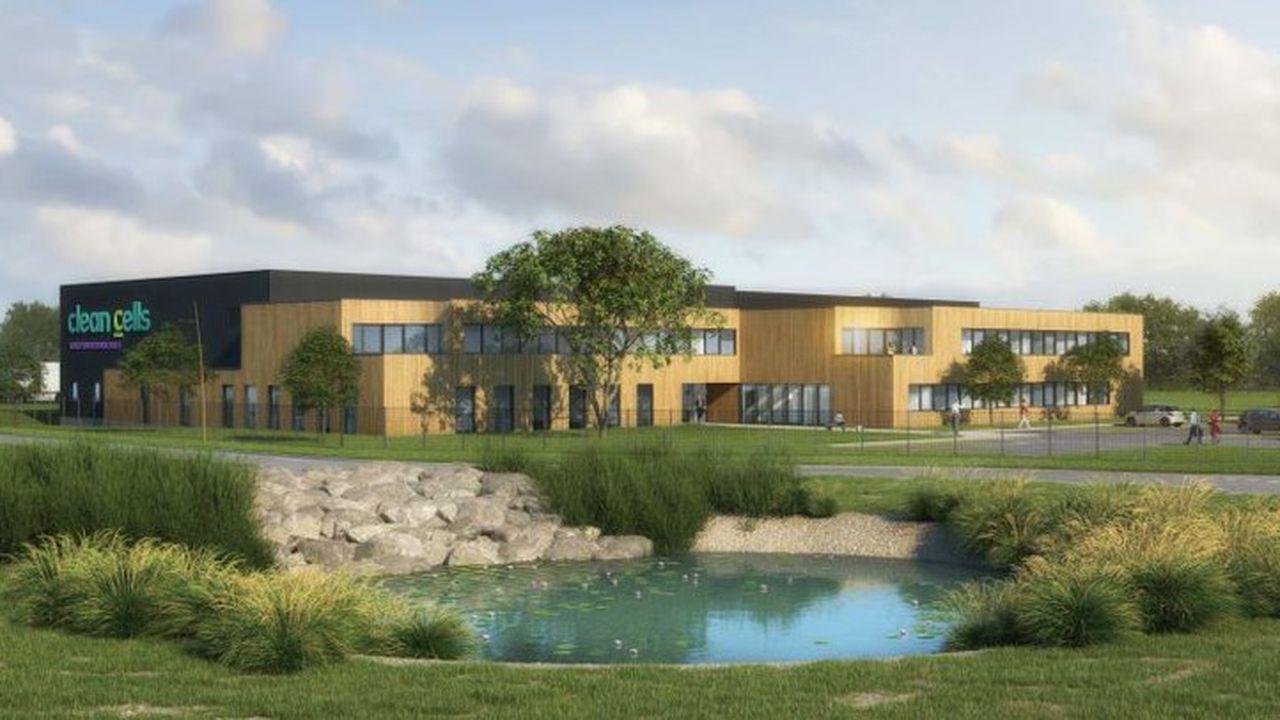 Le nouveau laboratoire quatre fois plus grand que le précédent sera livré en septembre2022