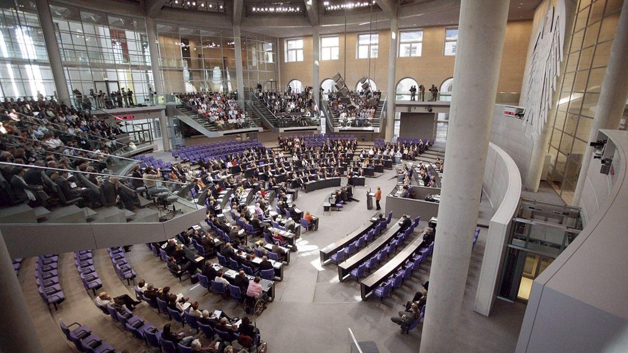Le parlement allemand.